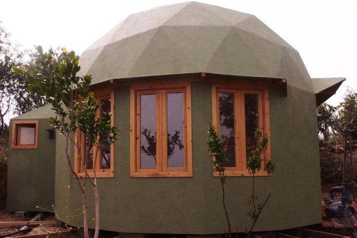 domo geodesico ademas