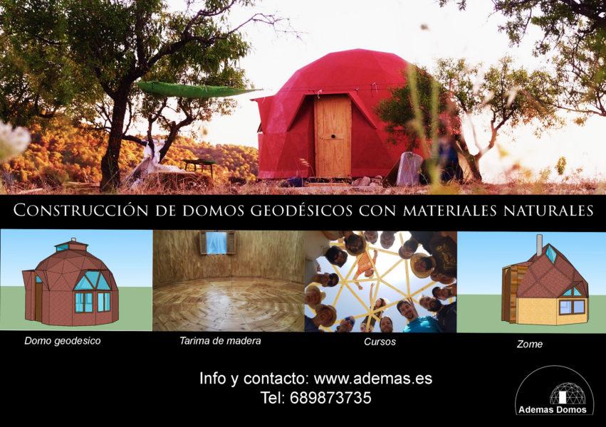 Flyer Ademas domo geodesico