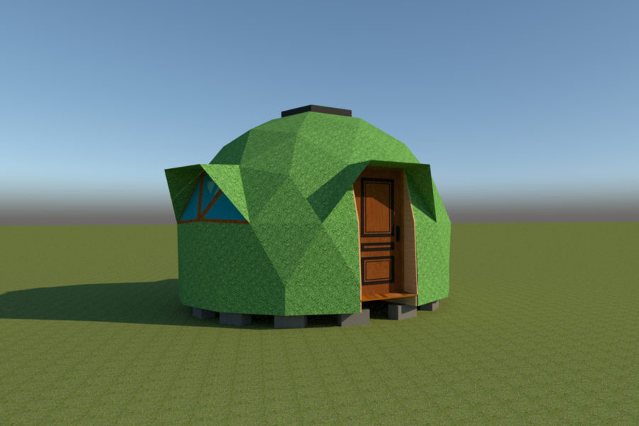 domo geodesico 3V