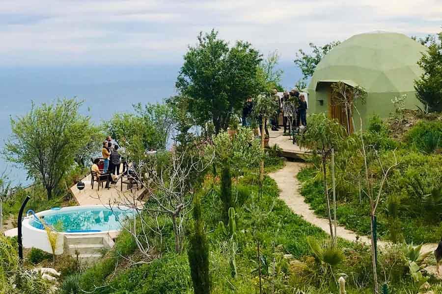 Domo eco resort glamping