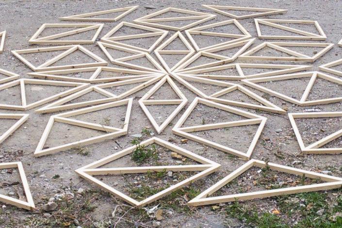 zome de madera domo geodesico